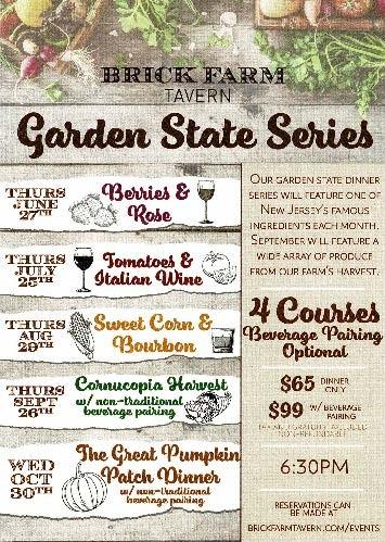 The Garden State Dinner Series